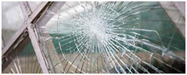 North Finchley Smashed Glass